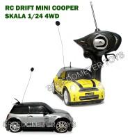 Jual RC Mobil Drift 4WD Body Metal Mini Cooper 1/24 | Mainan Edukasi Anak Murah