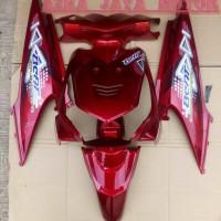 Full Body Halus Honda Beat Karbu Lama Warna Merah Marun