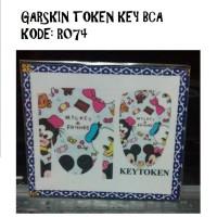 Garskin Token Key BCA kode R074