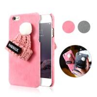 Fur hat case christmas series case Iphone 6/6s