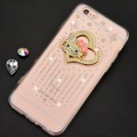 Hello kitty bling bling handmade soft case Iphone 6/6s (2)