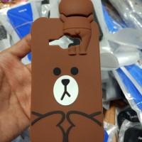 harga Case Samsung Galaxy J1 Ace Cartoon 3d Teddy Brown Soft Cover Silicone Tokopedia.com