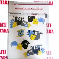 (Beat Pop) Honda ORI Pixel Sticker / Stiker Body Art Black