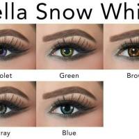 Softlens Bella Snow White