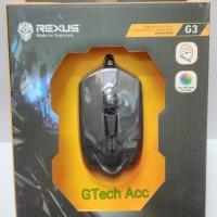 Mouse Gaming Rexus Xierra G3