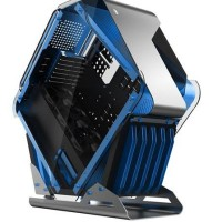 CUBE GAMING BEAST BLUE - Alumunium Case + Tempered Glass Double Side