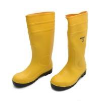 Sepatu Safety Boot PVC Kuning (43) Krisbow KW1000581