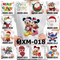Kaos / Baju Anak Natal Laki Laki/ Christmas Edition - 13 Motif/Design