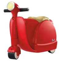 SKOOT Ride On Luggage Racer Red