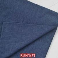 KDN101Kain Denim Biru Tua (per meter)