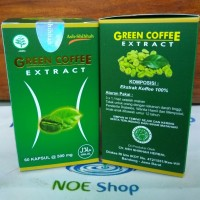 Jual Kapsul Ekstrak Green Coffee Bean Ash-Shihhah Obat Herbal Pelangsing Murah