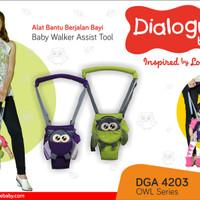 Jual Baby Walker Assist Tool (Alat Bantu Berjalan Bayi) Dialogue Owl Series Murah