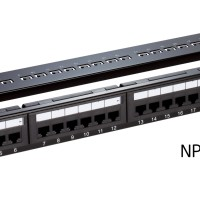 D-LINK NPP-C61BLK24 1Cat6 UTP Fully Loaded Patch Panel