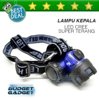 Lampu Senter Kepala Glare Miner V3 High Power Headlamp Cree 3W