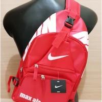 Tas Dukung Selempang Sling Slempang Nike Air Merah