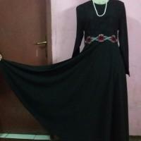 gamis / dress / terusan muslimah murah kombinasi brokat
