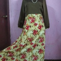 gamis / dress / terusan muslimah murah
