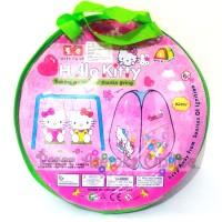 harga Tenda Segitiga Hello Kitty Pop Up mainan Anak Tokopedia.com