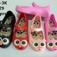Jelly Shoes Premium Kids Owl - Sepatu walker - Sepatu anak