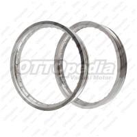 Velg Pelek Rim / Jari-jari TDR Type W 17 185/215 36 Hole Silver