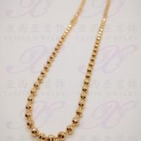 Yaxiya (anting korea gelang cincin liontin) kalung anak warna gold 18k