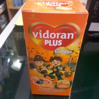 VIDORAN PLUS VITAMIN 100ML - lysine - curcuma - nafsu makan