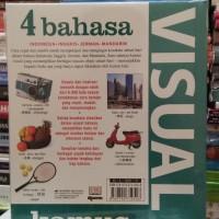 KAMUS VISUAL 4 BAHASA: Indonesia-Inggris-Jerman-Mandarin Berwarna/Ori