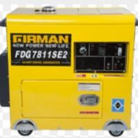 Mesin Genset Firman FDG7810SE2 Genset 5KVA Silence Diesel