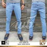 Celana Jeans Rip Curl Pensil Skinny Biru Wash / Biru Muda