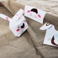 Jual plastik kantong rabbit bungkus coklat roti cake cookies hadiah gift Murah