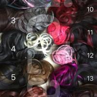 hairclip ombre/hair clip/rambut palsu/warna/wig/extension/wig wanita