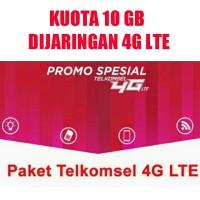 Kartu Perdana Telkomsel Simpati Paket Kuota 10GB dijaringan khusus 4G.