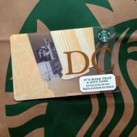 Starbucks Card USA - Washington DC 2015