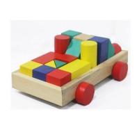 Babymix - Mainan Bayi Anak - City Block Truck