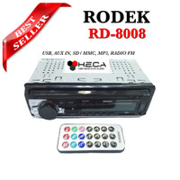 harga Rodek RD-8008 Tape Mobil RD8008 Single Din 8008 Radio Head Unit Audio Tokopedia.com