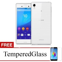 Case For Sony Xperia Z3+ / Z3 Plus - Clear + Gratis Tempered Glass - U