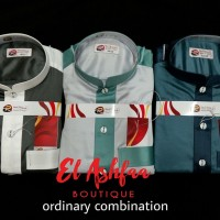 harga Jubah Saudi Al Rawah Ordinary Combination- El Ashfaa Boutique Tokopedia.com