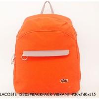 Tas Ransel Import Lacoste Backpack VIBRANT 12303 - 4