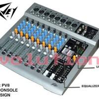 Mixer Peavey PV 8 USB (8 Channel)