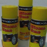 PROXIMA SILICONE GLAZE Melindungi Karet, Kulit dan Vinyl..RECOME