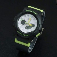 Jam Tangan Digitec Original Wanita Digitec 2099 Black Lis RumahFashion