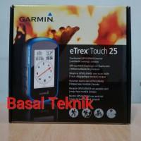 GPS Garmin ETrex Touch 25 Garansi Resmi 1 Tahun