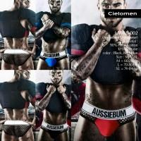 AUSSIEBUM Jockstrap UWAB-002 Underwear Brief Gstring Bikini Dalam CD
