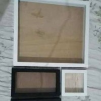 harga frame 3d scrap 30x30 + stand Tokopedia.com