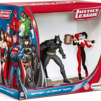 Schleich 22514 Batman Vs Harley Quinn Scenery Pack