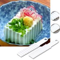 Pisau Plastik Tofu / Pudding (Isi 2)