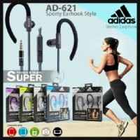 Headset Handsfree Earphone ADIDAS Sport + Mic Handsfree HS MP3 - AD621
