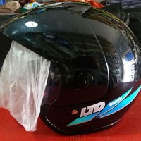 Helm LTD Sport Hitam Metalik