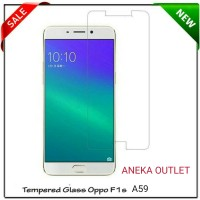 TEMPERED GLASS / ANTI GORES FOR HP OPPO F1S SELFIE EXPERT / F1 S A59