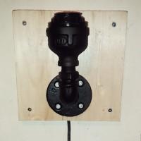 harga Lampu Hias Dinding retro galvanis kayu solid Tokopedia.com